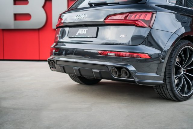 2018 Audi SQ5 ABT Sportsline exhaust tips