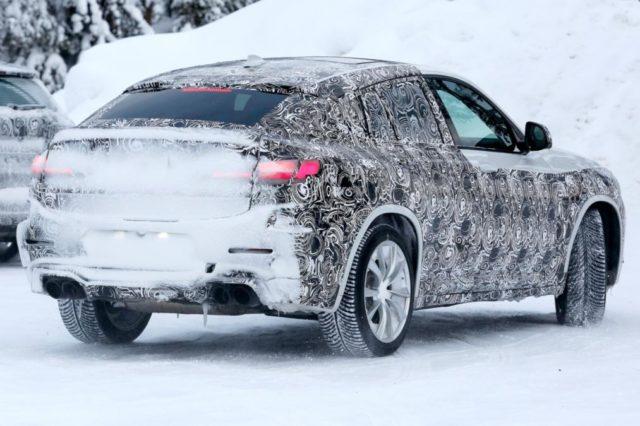 2019 BMW X4 M spy