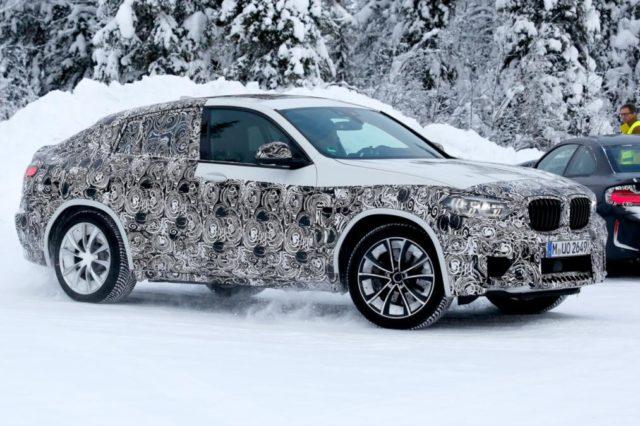 2019 BMW X4 M spy shots side