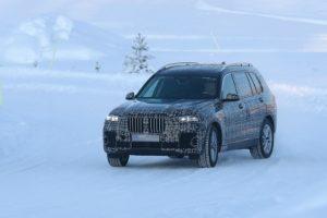 2019 BMW X7 spy