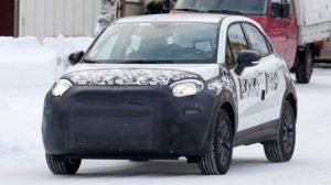 2019 Fiat 500X facelift