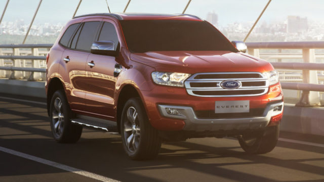 2019 Ford Everest Raptor rumors