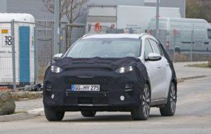 2019 Kia Sportage spy front