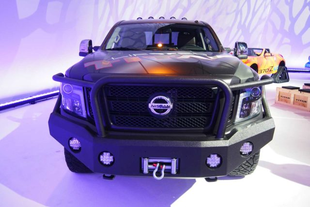 2019 Nissan Titan Lift Kit front