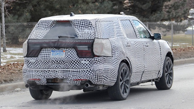 2020 Ford Explorer ST Spied: The SUV Will Get 400 Hp and 400 Lb-Ft Of Twist | SUVs & Trucks