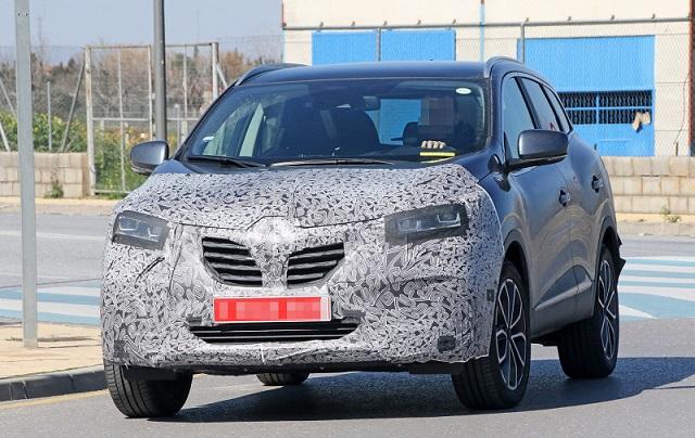 2018 Renault Kadjar spy