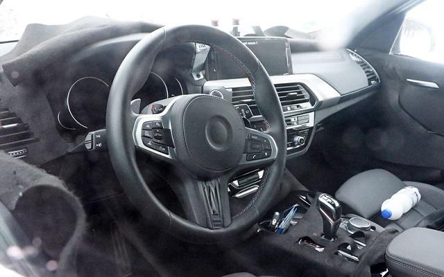 2019 BMW X3 M interior