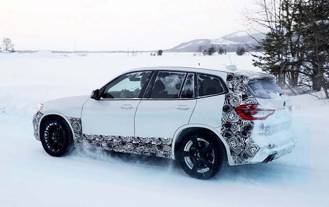 2019 BMW X3 M spy side