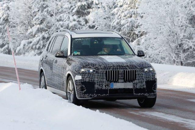 2019 BMW X7 M50i spy