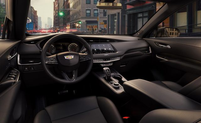 2019 Cadillac XT4 dashboard