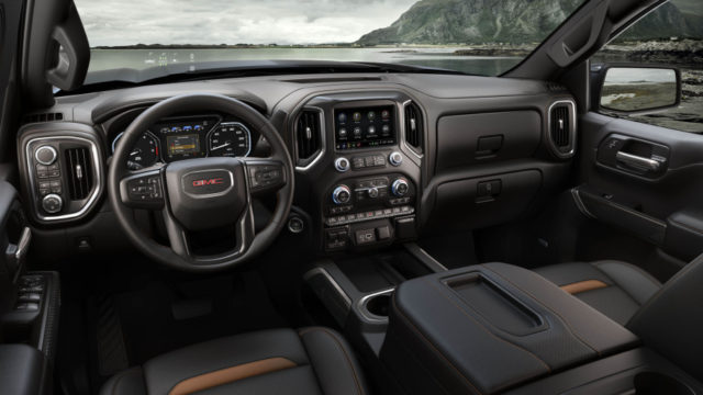 2019 GMC Sierra AT4 cabin