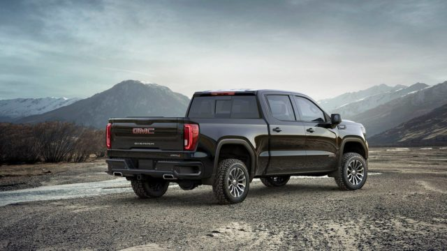 2019 GMC Sierra AT4 rear