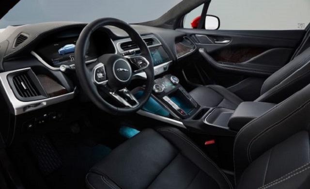 2019 Jaguar I-Pace cab