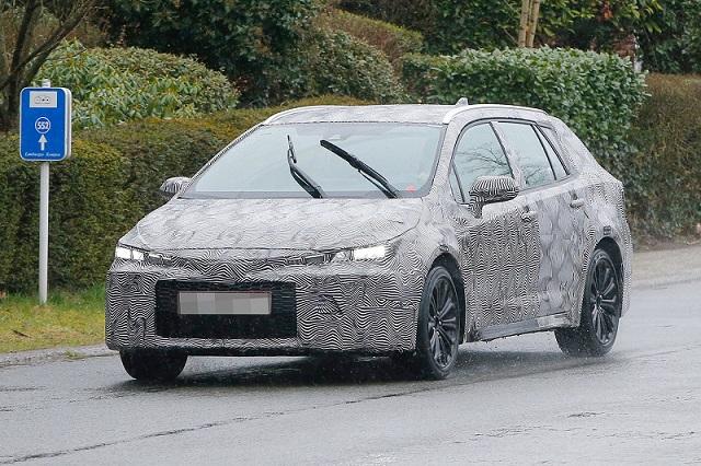2019 Toyota Auris Touring Sports Camouflaged Wagon