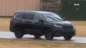 2019-honda-pilot-spy-photos