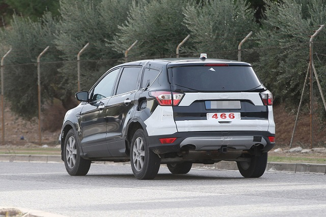 2020 Ford Escape redesign rear