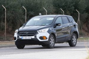 2020 Ford Escape spy redesign