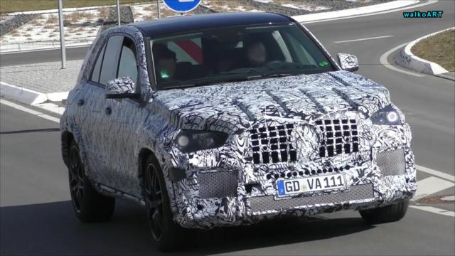 new Mercedes-AMG GLE 63 spy
