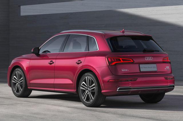 2019 Audi Q5L rear