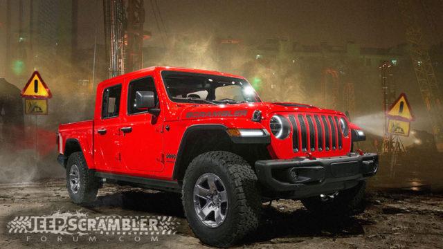 2019 Jeep Scrambler renderings