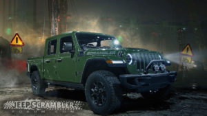 2019 Jeep Scrambler renderings green