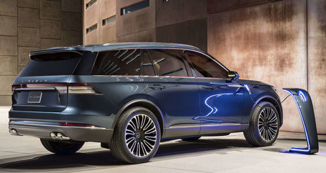 2019 Lincoln Aviator rear