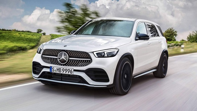 2019 Mercedes-Benz GLE renderings