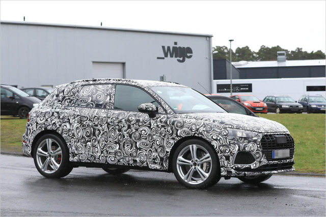 2020 Audi SQ3 spy side