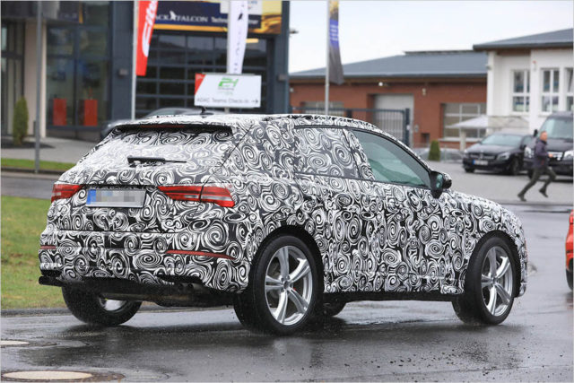 2020 Audi SQ3 spy rear