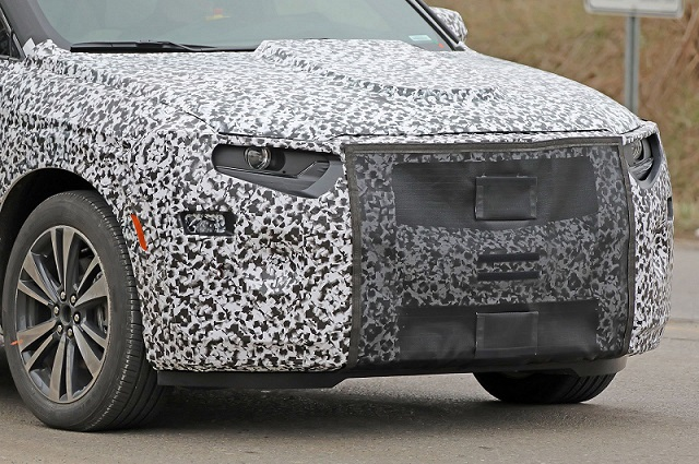 2020 Cadillac XT6 spy nose
