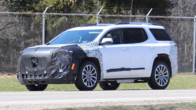 2020 GMC Acadia refresh front end