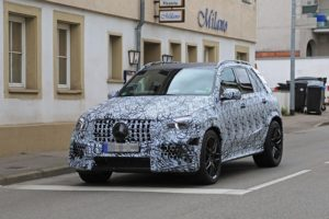 2020 Mercedes-AMG GLE63 spy front