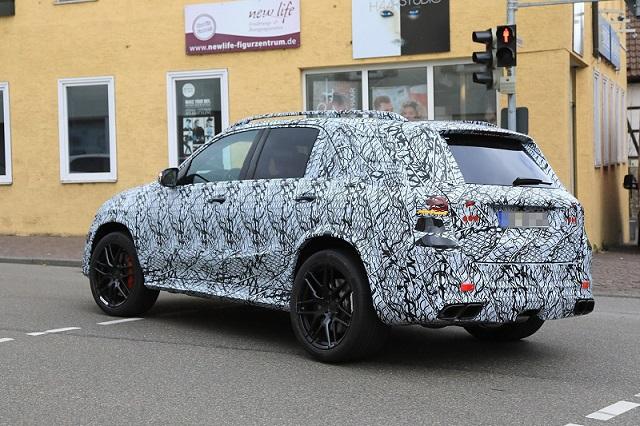 2020 Mercedes-AMG GLE63 spy rear