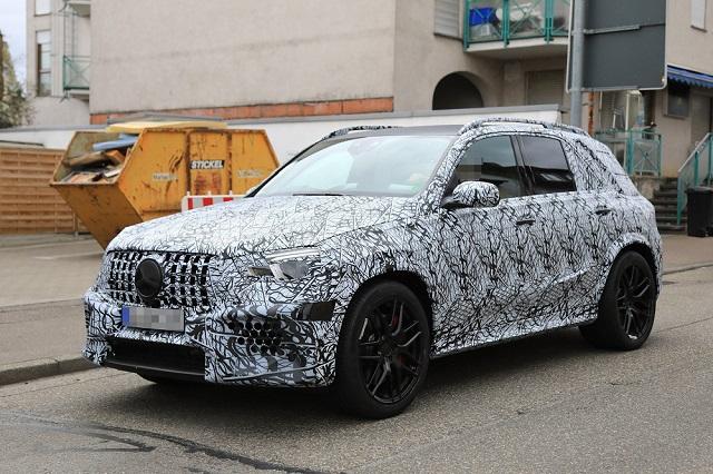 2020 Mercedes-AMG GLE63 spy