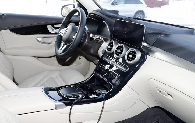 2020 Mercedes-Benz GLC interior update