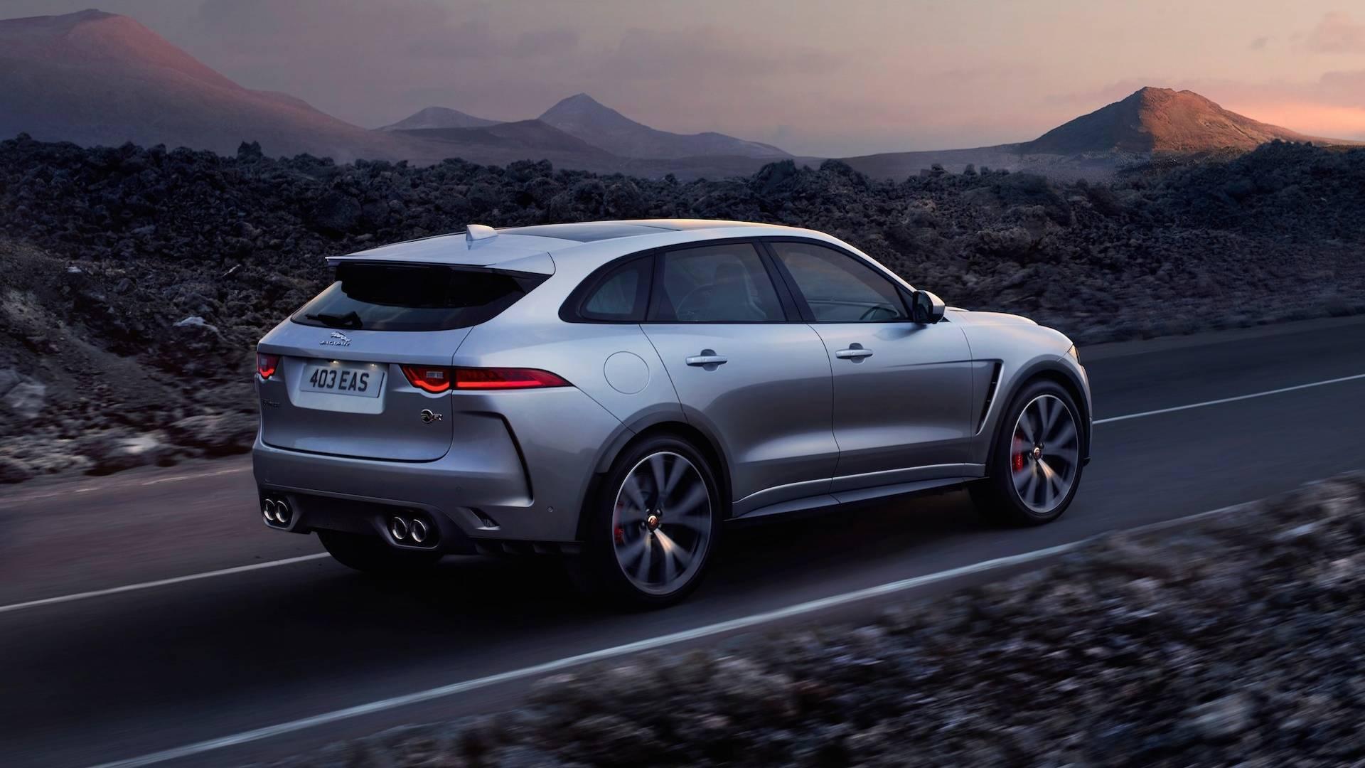 2021 Jaguar J-Pace rear