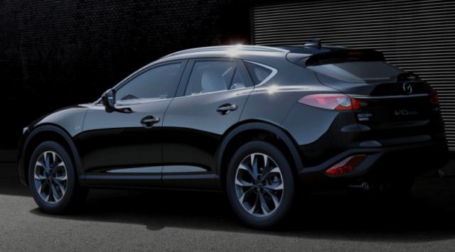 2021 Mazda CX-7 rear
