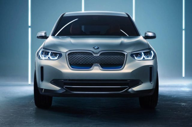 BMW iX3 Electric Crossover Concept