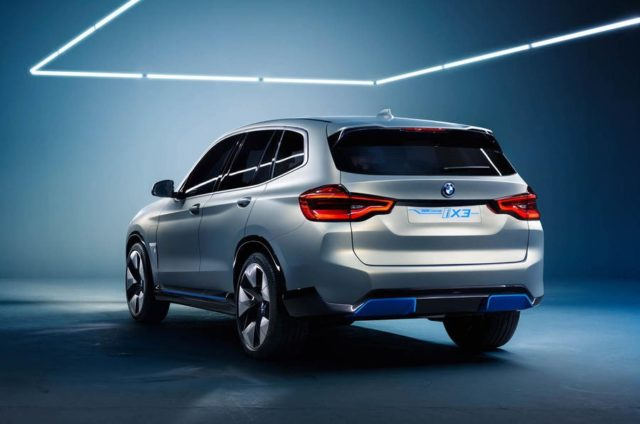 BMW iX3 Electric Crossover Concept rear