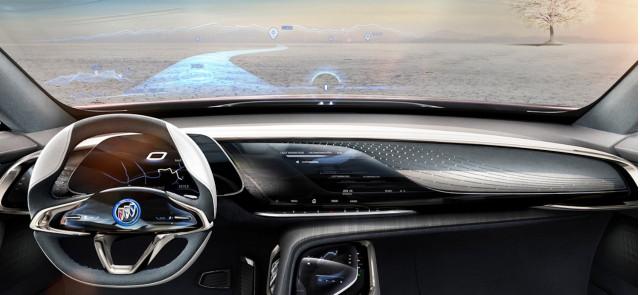 Buick Enspire concept cabin