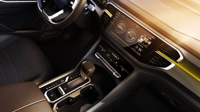 Volkswagen Atlas Tanoak concept interior