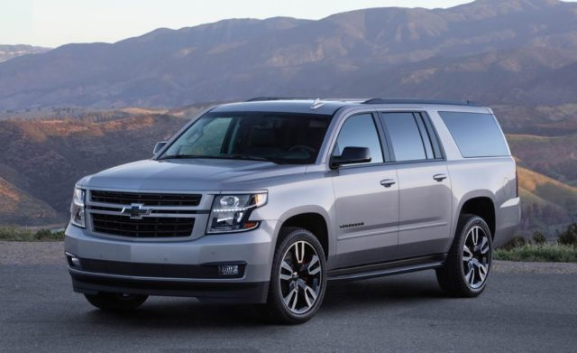 2019 Chevrolet Suburban Rst Gets New Performance Package