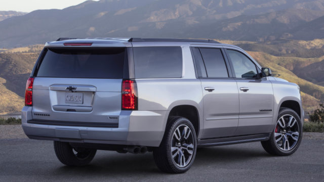 2019 Chevrolet Suburban RST rear