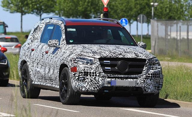 2019 Mercedes-Benz GLS spy shots
