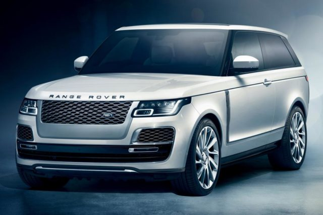 2019 Range Rover SV Coupe front