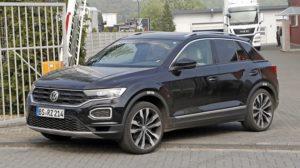 2019 Volkswagen T-Roc R spy