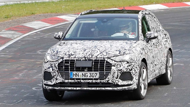 2020 Audi RS Q3 spy