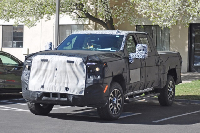 2020 GMC Sierra Denali 2500 HD spy
