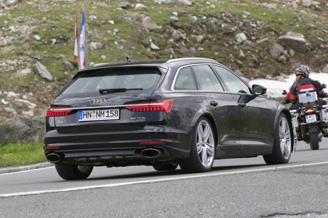 2019 Audi RS 6 Avant rear spy