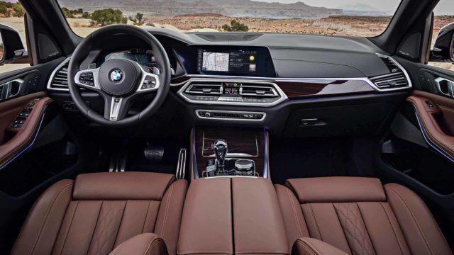 2019 BMW X5 redesign cabin